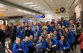Team BC athletes arrive in Red Deer