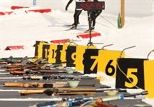 Four Medals for Biathlon in the individual pursuits on Tuesday