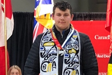 Gamache wins silver for Team BC in archery