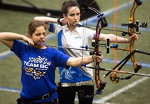 Exciting finish to competition for Team BC archers