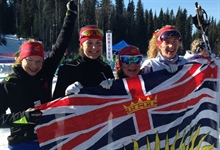 Double medal day for Team BC in Cross Country Relays