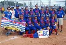 Softball wins gold