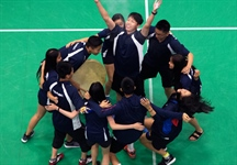 Team BC Badminton earns gold for retiring coach Shaikh