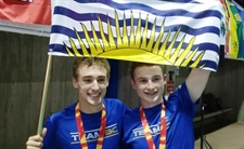 Silver and bronze medals for Team BC in men's 3-metre springboard