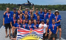 Seven medals for Team BC Rowing