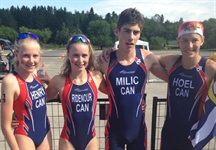 Gold medal for Triathlon in mixed relay