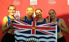 A Friday night flurry of medals for Team BC in athletics