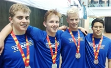 Another successful evening for Team BC in swimming