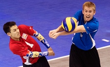 Team BC volleyball will play for bronze medal