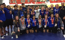 15 medals won by Team BC wrestlers