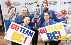 Video: Team BC pep rally and Opening Ceremony