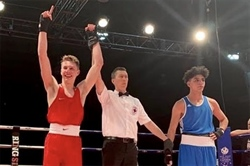 Sims punching for gold at the Canada Winter Games