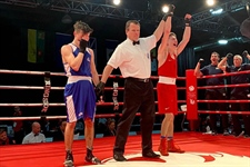 Team BC boxer wins gold medal at Canada Winter Games