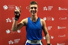 Hellekson gets Team BC their third medal in boxing