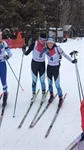 Final event at Biathlon competition for the 2019 Canada Winter Games