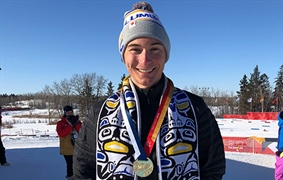 Gold for Team BC in cross country at Canada Winter Games
