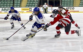 Team BC women's hockey blows by powerhouse Ontario
