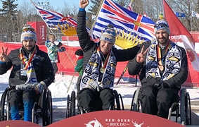 Another podium sweep for para nordic