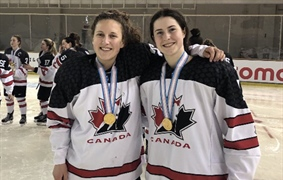 Team BC Hockey Coach Delaney Collins makes history at Canada Games