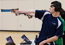 Team BC hits target with bronze medal in Team Air Pistol event