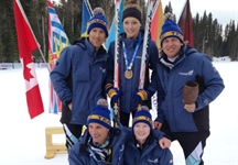 Medal trifecta for Emily Dickson as Team BC posts big results at Winter Games