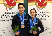 Gymnasts, speed skaters and target shooter bring home hardware for Team BC