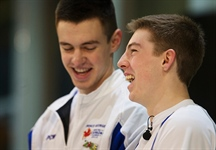Team BC duo selected to represent Canada at the Youth Olympics