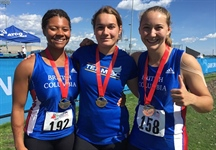 Hammer throw women sweep podium as Athletics bring in 21 more medals